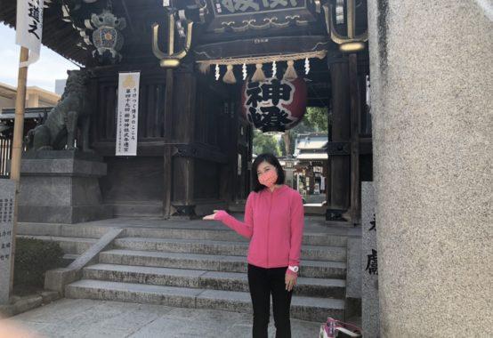 博多区櫛田神社に参拝へ。福岡市議会議員堀本わかこ