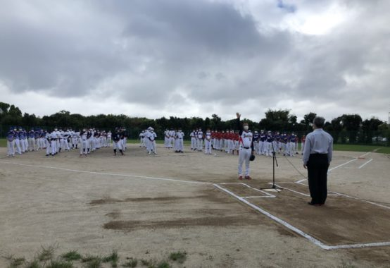 第48回博多区壮年ソフトボール大会へ参加堀本わかこ